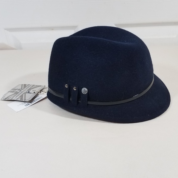 8ce755fbef8 Kangol Military Colette Wool Riding Hat Cap Trilby